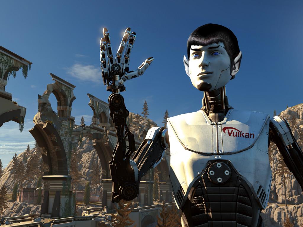 Vulcan_Robot